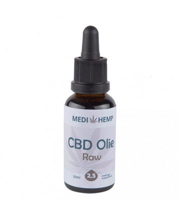 Medihemp CBD Raw Naturel 2,5 %