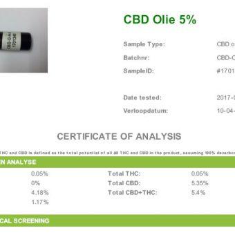 labtest cbd olie 5%
